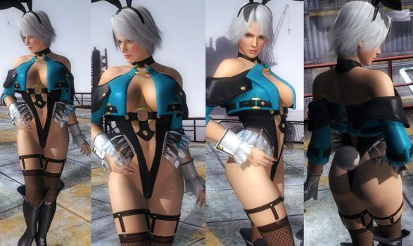 Christie Bunny Variation by funnybunny666