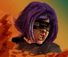 HIT GIRL work in progress by ozzie325