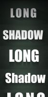 Long Shadow Effect PSD by FakeFebruary