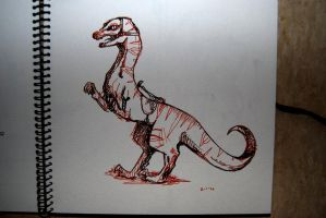 Sketchbook : Dino by YLimes