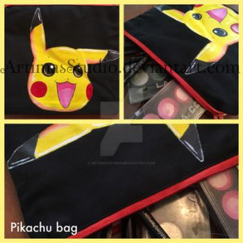 Pikachu bag by ArtimasStudio
