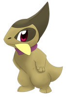 Shiny Axewess by Apricotil
