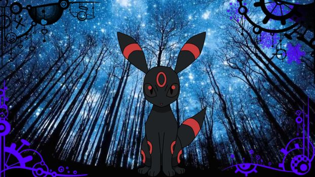 Red Umbreon by MrGerry27