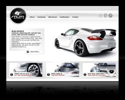 Web Design: Luxury Tuning v1 by jasonquiz