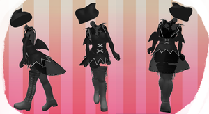MMD Outfit 16 by MMD3DCGParts