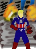 Captain Steve Rogers, of the Avengers Initiative by 127thlegion