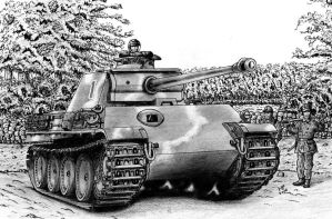 Panther Ausf. G Late by MjP-70