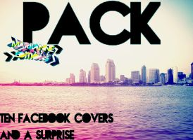 Facebook Covers+Surprise~ -Pack. by MariianneEditions