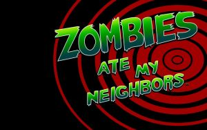 Zombies Ate My Neighbors Background by Toksic-Krusayder