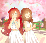 Collab: Spring Angels by Frappe7