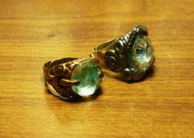 Royal ring and guardian ring by Babonga