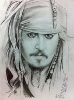 Captain Jack Sparrow by ppleong
