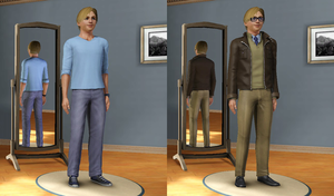The Sims 3 CAS: PewDiePie by Tx-Slade-xT