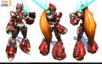 Polycount Brawl 2011 Marvel vs Capcom, Zero by cg-sammu