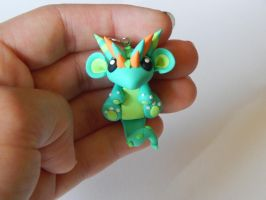 Blue and Green Baby Dragon by XDtheBEASTXD
