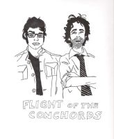 Flight of the Conchords by GiveMeSomeSugar