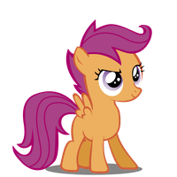 Scootaloo - Awesome Stance by Maxis122