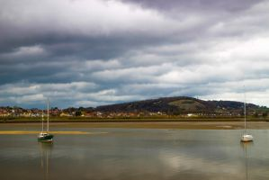 Conwy boats by L1am30