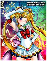 Super Sailor Moon by eleoyasha