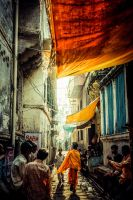 Varanasi 1 by Inlakechh