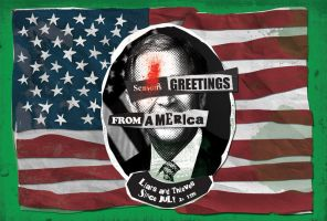 Greetings from america by kwant