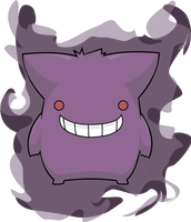 Gengar by Digillama