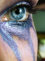 Purple Eye II by music-lover-stock
