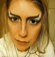 Jareth the Goblin King Makeup by BrynjaG