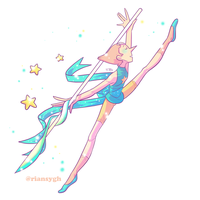 SU collab Pearl by FauxBoy