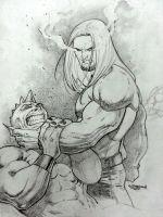 Brimstone pencils free to ink! by Sajad126