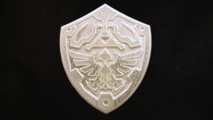 3D Printed LEGO Hylian Shield by mingles