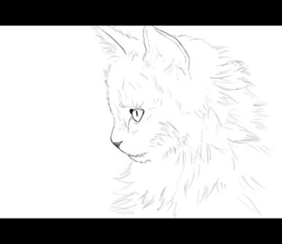Kitten Painting - Animated WIP by MisterSev7n