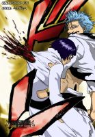 GrimmJow and Luppi by archaon21