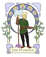 The Protector by IllustratedJai