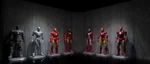 Iron Man - Hall of Armor by FordGT