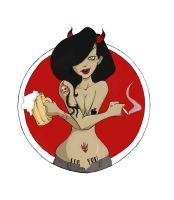 Devil chick by hyperpro