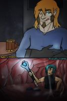 The giant and the mage -Vore- by MythrilMog