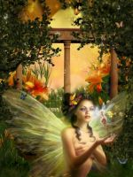 Nature  Live Fairy by sweetpoison67