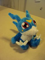 Commission Veemon 2 by mysteriousmage