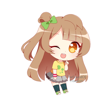 Chibi Commission 02 by TheSoundOfFreedom