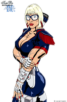Girls With Glasses 05 - Red white n Blue special by spykillers