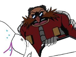 Eggman over your bed base by Sonic-Lover9