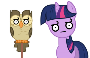 Vector 07} Owloysius and Twi by RosaIine