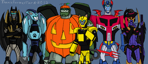 Halloween TFA style by Primeval-Wings