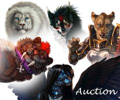 Full Color Auction by Maquenda