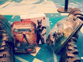Toys I got at Puerto Rico Comic-con by yomithejester101