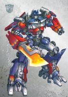 Optimus Prime: DOTM by ZeroMayhem