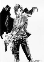 Claire Redfield RE Revelations 2 by aaronminier