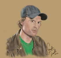 Dwight Schultz-Airbrush Style by annieoakley64
