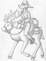 Reindeer Mounted by GrymmBadger